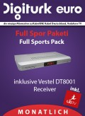 Digiturk Euro Receiver DT-8001 Full Sports