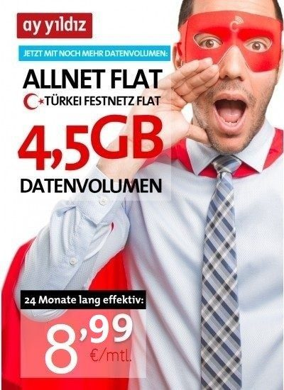 Mond Stern 24 Monate 4,5GB Aktion