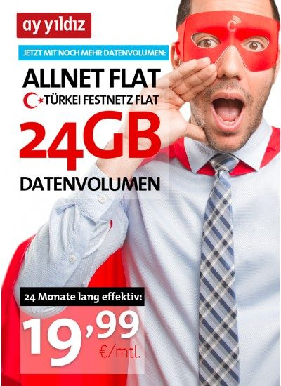 Mond Stern 24 Monate 16GB Aktion
