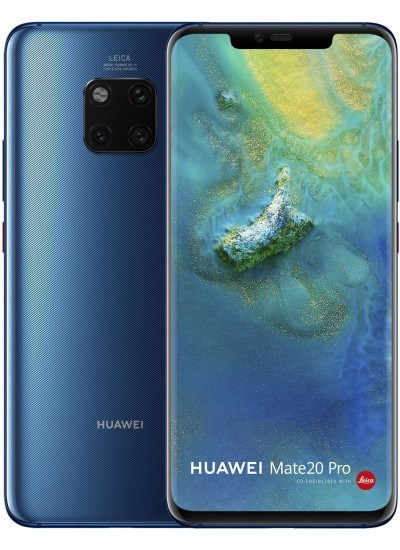 Huawei Mate 20 Pro 128GB Midnight Blau