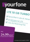 Yourfone LTE 10GB Turbo Sim Only
