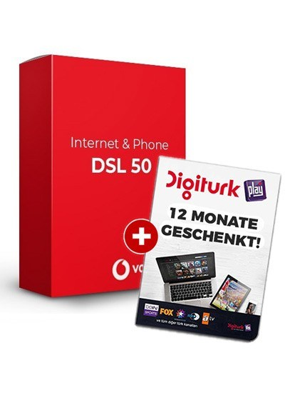 Vodafone Red Internet & Phone 50