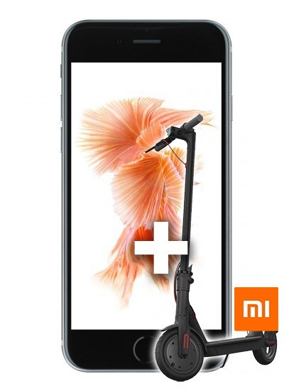 Apple iPhone 6s + Xiaomi E-Scooter 32GB Spacegrau